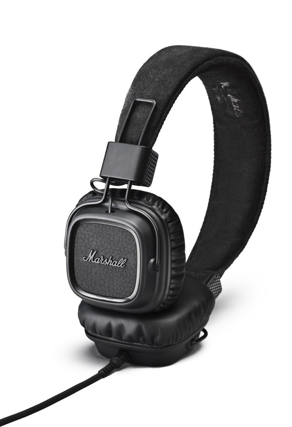 Marshall - Major II Pitch Black Hovedtelefon