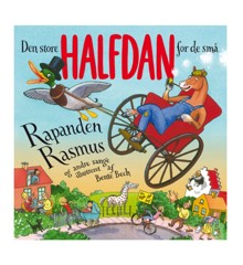 Den store Halfdan for de små: Rapanden Rasmus og andre sange