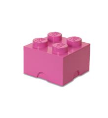 Room Copenhagen - LEGO Opbevaringskasse Brick 4 - Pink