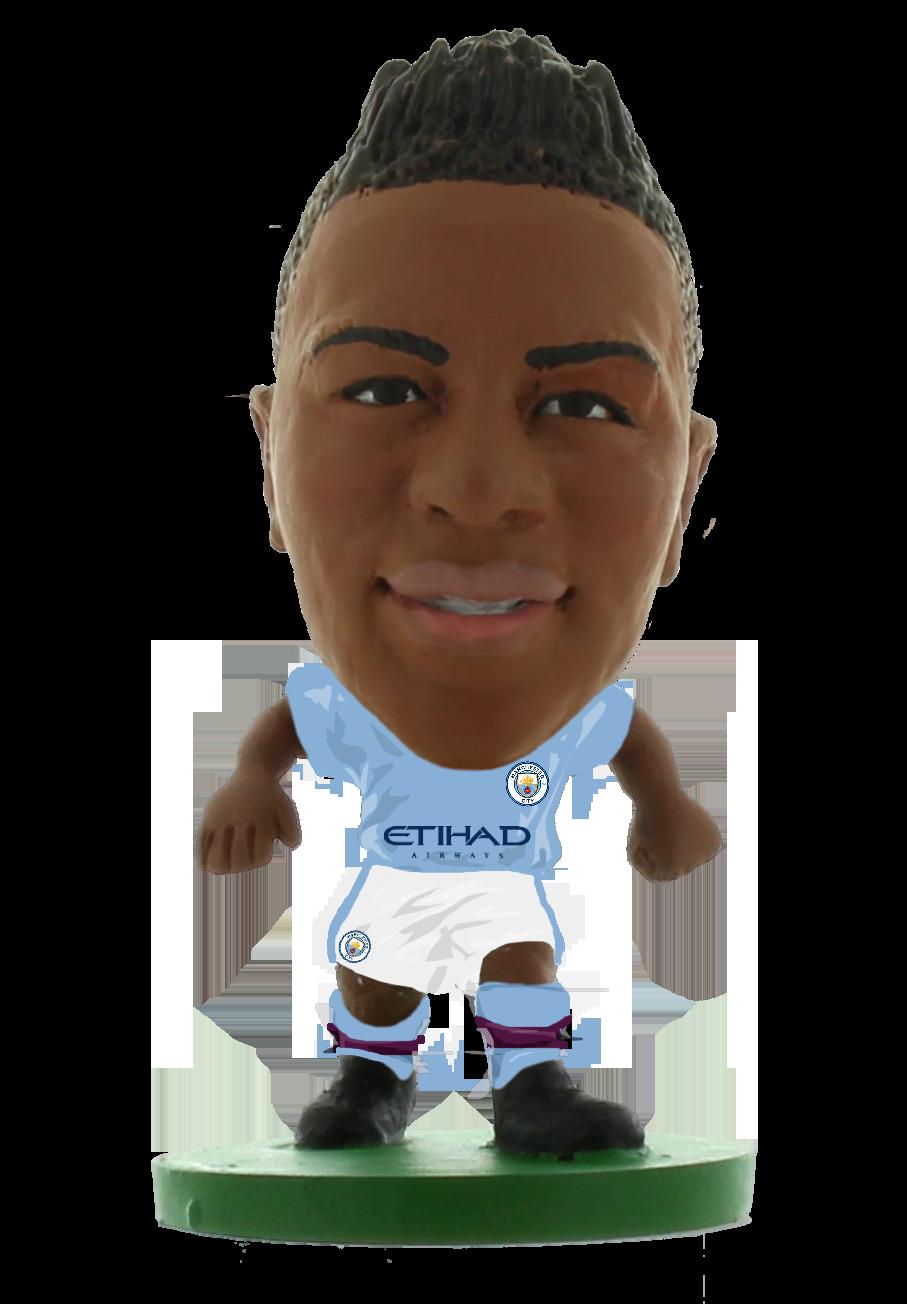 Soccerstarz - Man City Raheem Sterling - Home Kit (2020 version)
