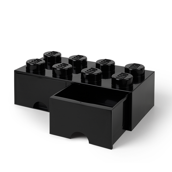 Room Copenhagen - LEGO Brick Drawers 8 - Black (40061733)