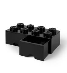 Room Copenhagen - LEGO Brick Skuffekasse 8 - Sort