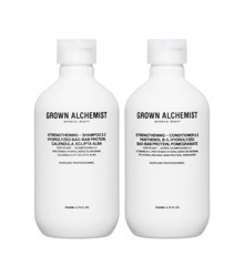 Grown Alchemist - Strengthening Haircare Twinset 2x200 ml