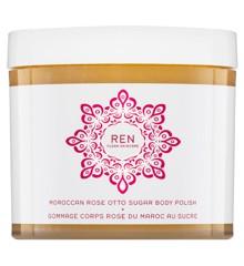 REN - Moroccan Rose Otto Sugar Body Polish Sukker-Peeling 330 ml
