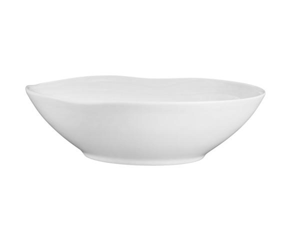 Pillivuyt - Boulogne Salad Bowl Low Ø 28 cm - White (173028)