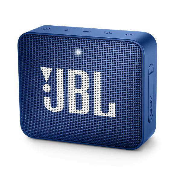 JBL - GO 2 Portable Bluetooth Speaker Deep Sea Blue