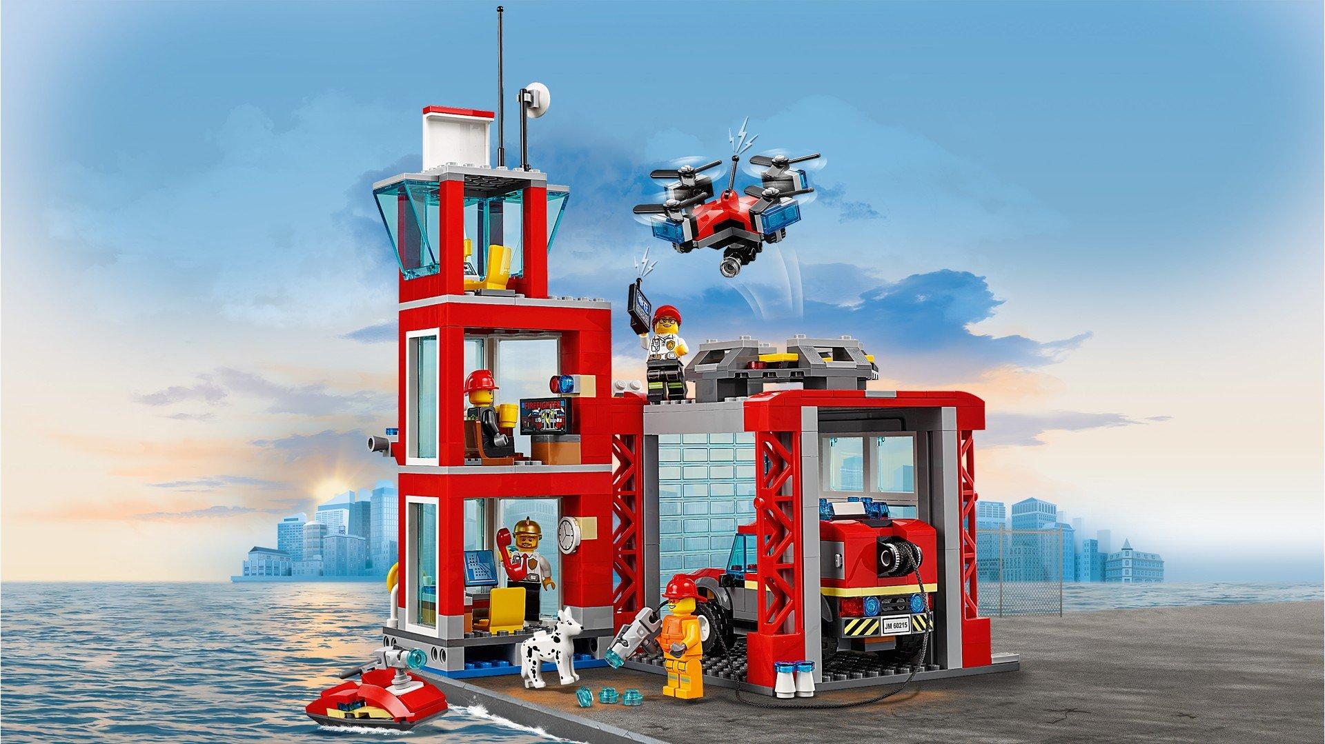 Buy LEGO City - Fire Station (60215)