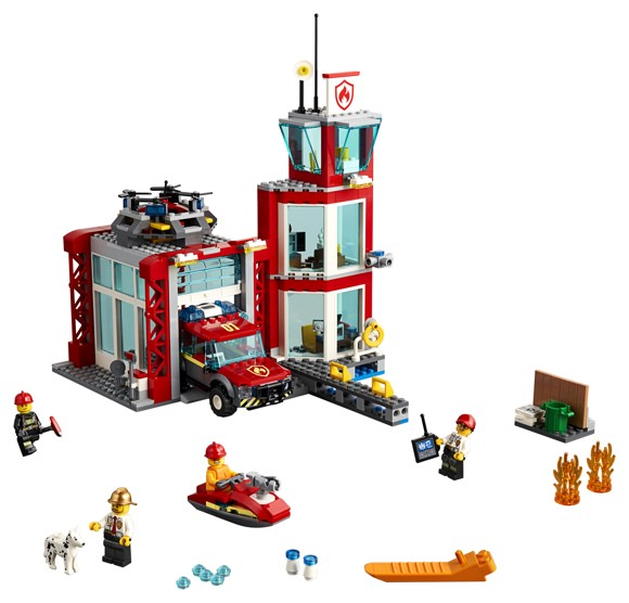 LEGO City - Brandstation (60215)