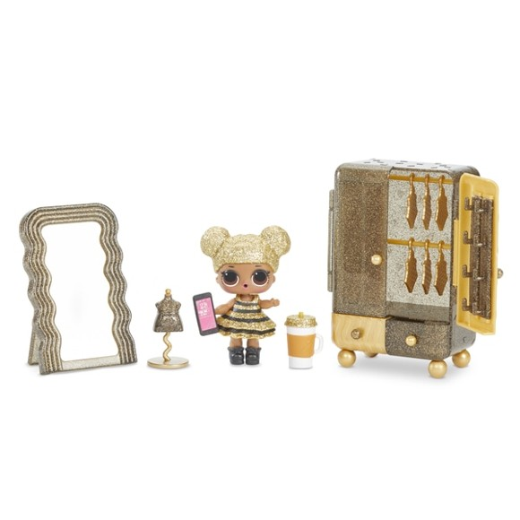 L.O.L. Surprise - Furniture with Doll - Skab med Queen Bee