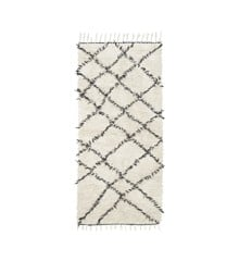 House Doctor - Riba Carpet 90 x 200 cm - Black/White (Rm0030-90X200)