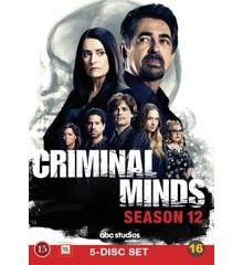 Criminal Minds: Sæson 12 - DVD