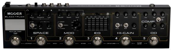 Mooer - Black Truck - Guitar Multi Effekt Pedal