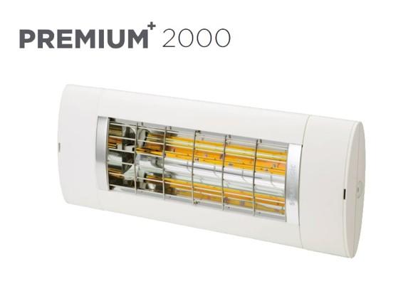 Solamagic - 2000 Premium+ Patio Heater - White - 5 Years Warranty