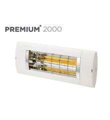 Solamagic - 2000 Premium+ Terrassevarmer - White - 5 års garanati