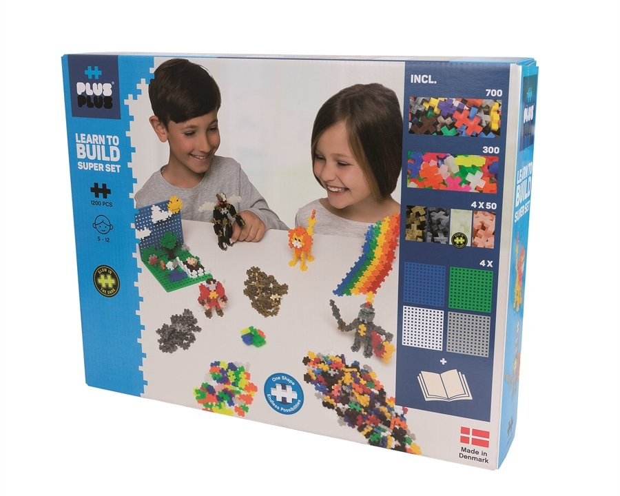 Plus-Plus - Basic 1200 Learn to Build - Super set (3811)