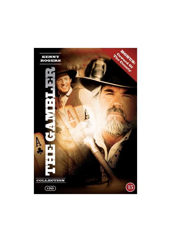 Køb Kenny Rogers The Gambler Collection - DVD - Inkl. fragt