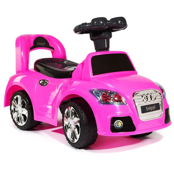 Boppi Ride On Sports Car PINK
