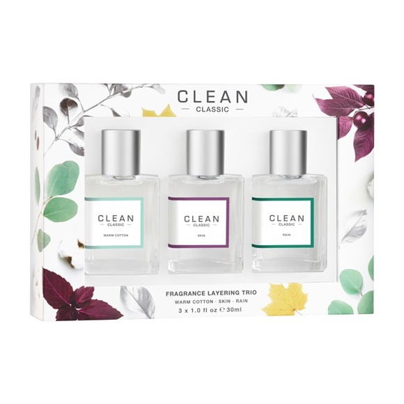 Clean - Layering Set 3 x 30 ml - Giftset