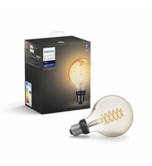 Philips Hue - E27 Filament G93 - White - Bluetooth