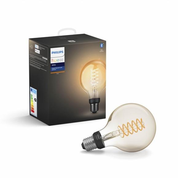 Philips Hue - E27 Filament G93 - White - Bluetooth