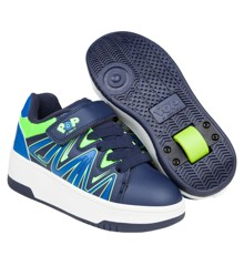 Heelys - Burst - Navy/Royal/Lime - Size 34 (POP-B1W-0011)