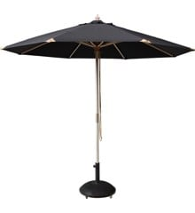 Cinas - Capri Umbrella Ø 3 meter - Black (6005020)