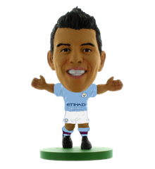 Soccerstarz - Man City Sergio Aguero - Home Kit (2020 version)