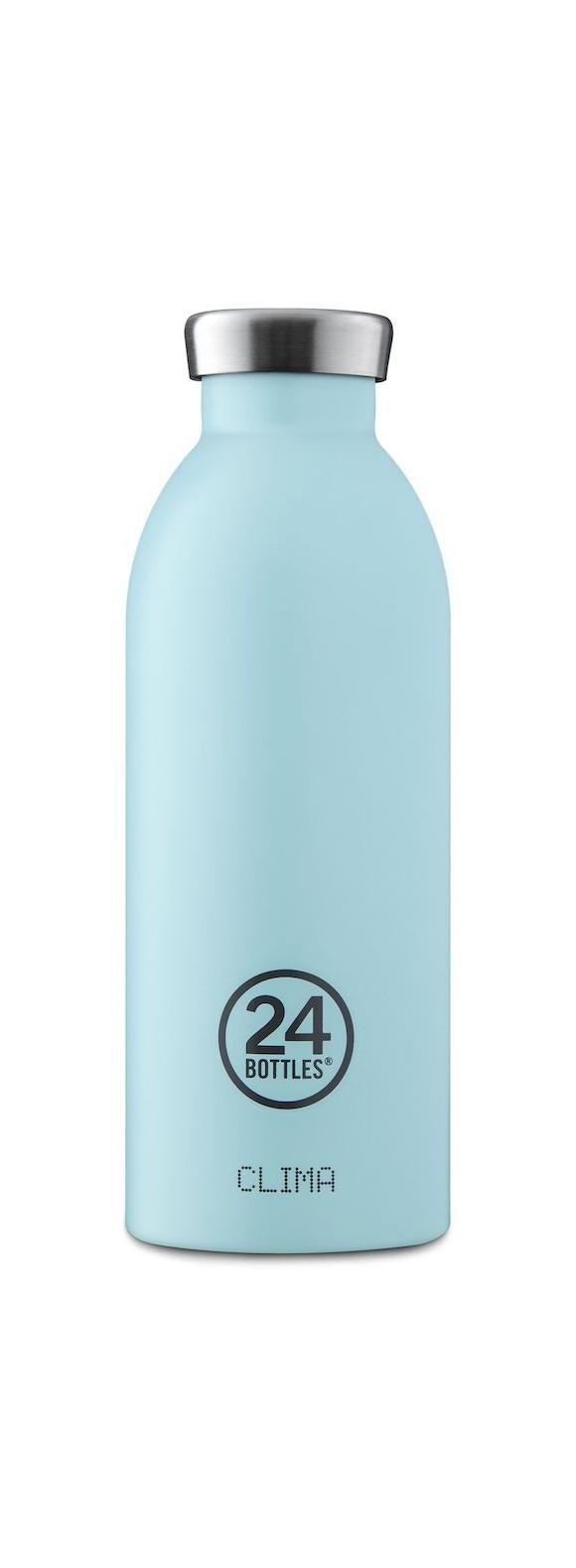 24 Bottles - Clima Bottle 0,5 L - Cloud Blue