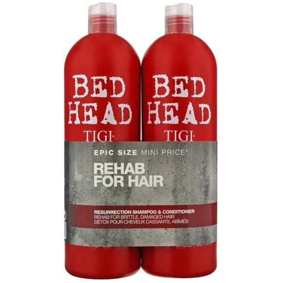 TIGI - Bed Head Urban Antidotes Resurrection Shampoo + Conditioner 2x 750 ml