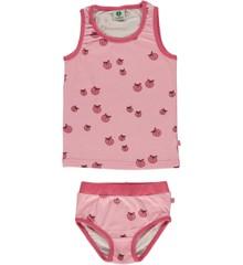 Småfolk - Underwear For Girls with Apple Print