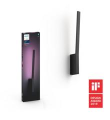 Philips Hue - Liane Wall Light Black -  White & Color Ambiance - Bluetooth