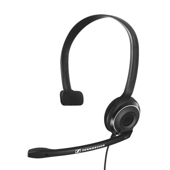 EPOS - Sennheiser - PC 7 Corded USB Noise Cancelling PC Headset - Black