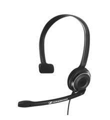 Sennheiser - PC 7 Corded USB Noise Cancelling PC Headset - Black