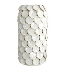 House Doctor - Dot Vase Large - Hvid