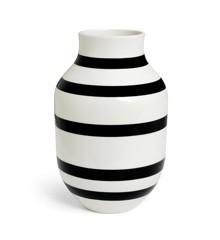 Kähler - Omaggio Vase Black - Large (690182)