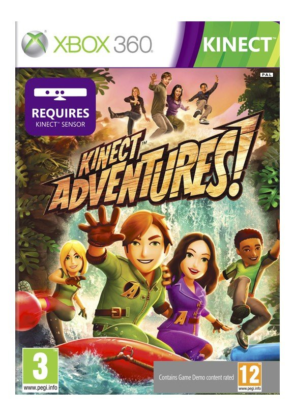 Kinect Adventures (Kinect)(Solus)
