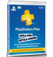 PSN Plus Card 12m Subscription SE (PS3/PS4/Vita) (Code via email)