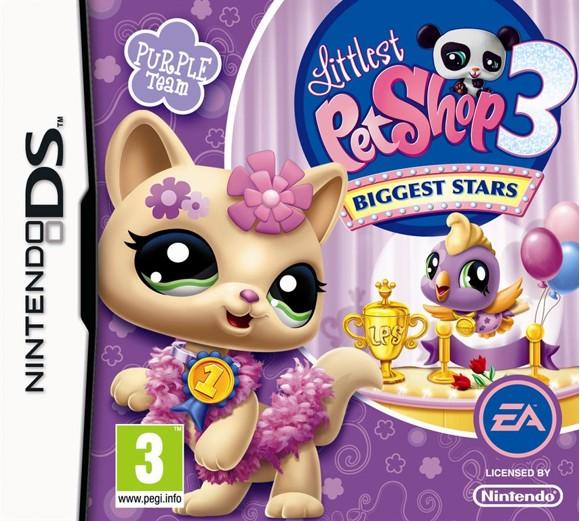 Littlest Pet Shop 3 Biggest Stars Purple (Nordic)
