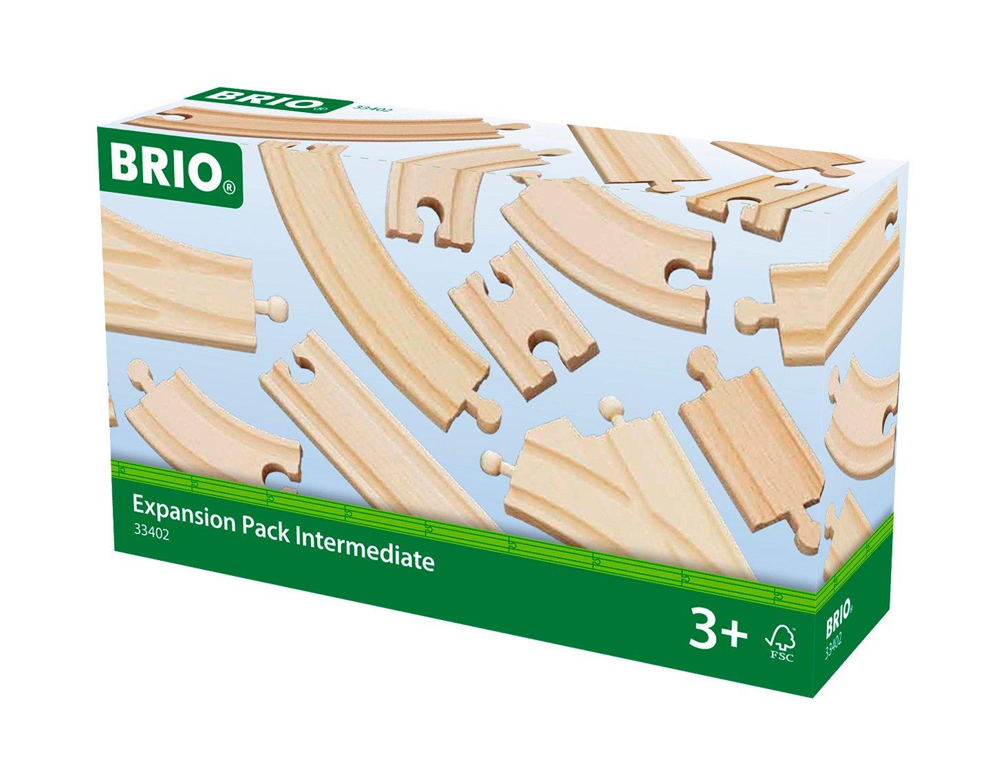BRIO Togbane - Skinnesæt 16 dele (33402)