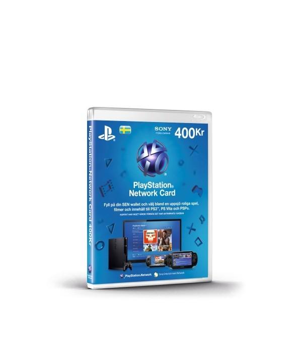 Playstation Network Card 400 Kronor (Code via email) (SE) (PS3/PS4/Vita) /PS3 DOWNLOAD