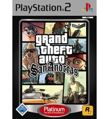 Grand Theft Auto San Andreas (Platinum)