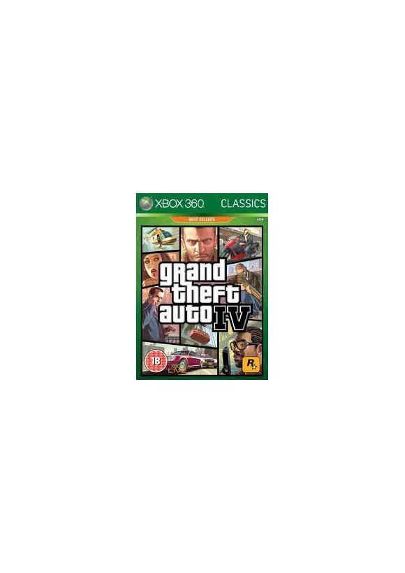 Grand Theft Auto IV (GTA 4) (Classics)