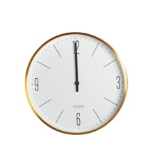 House Doctor - Wall Clock Couture Gold (LT0200)
