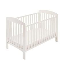 Baby Dan - Alfred - Tremmeseng - 60x120 cm - Hvid (1143-01)