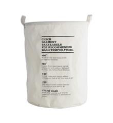 House Doctor -  Wäschebeutel (Wash Instructions)