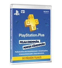 PSN Plus Card 3m tilaus FI (PS3/PS4/Vita) (Code via email)