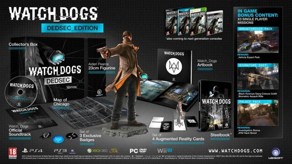 Watch Dogs - Dedsec Edition (Nordic)