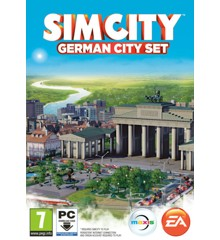 SimCity (2013) German City Set (Code in a box)