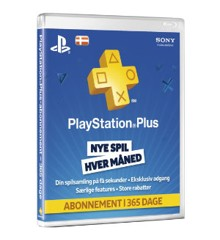 PSN Plus Card 12 month Subscription DK (Code via email) (PS4)