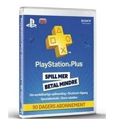 PSN Plus Card 3m Subscription NO (PS3/PS4/Vita) (Code via email)